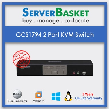 Buy GCS1794 2port KVM Switch with Cables and Remote online