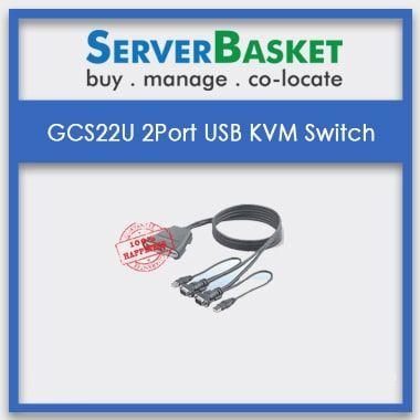 Buy GCS22U 2 Port USB KVM Switch Online at Best Price