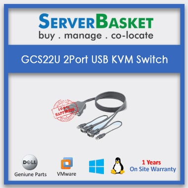 Buy GCS22U 2 Port USB KVM Switch Online at Best Price