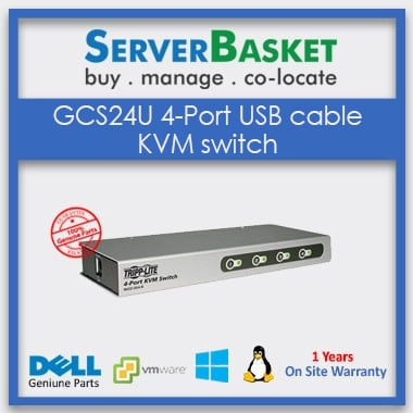 Buy GCS24U 4-Port USB cable KVM Switch Online at Best Price from Server Basket