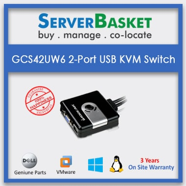Buy GCS42UW6 2-Port USB KVM Switch on Server Basket