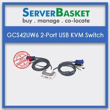 Get GCS632U 2-Port Audio Support KVM Switch online at Cheap Price on Server Basket