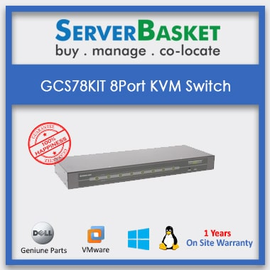 Order GCS78KIT 8 Port KVM Switch at Offer Price on Server Basket Website