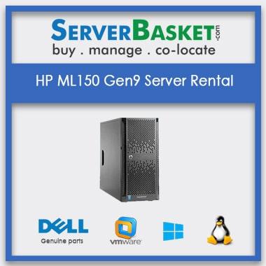 Buy HP ML150 Gen9 Server Rental In India