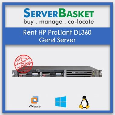 Get HP ProLiant DL360 G4 Server Rent from Server Basket, Get HP ProLiant DL360 G4 Server on Lease