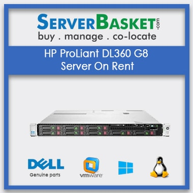 Buy HP ProLiant DL360 G8 Server On Rental In India , Serve Rental In India