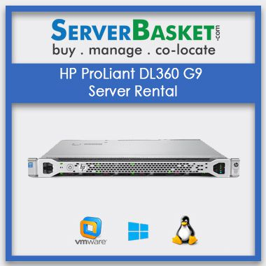 Buy HP ProLiant DL360 G9 Server Rental In India