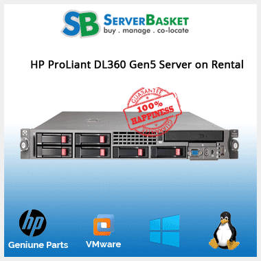 HP Rack Server Rental