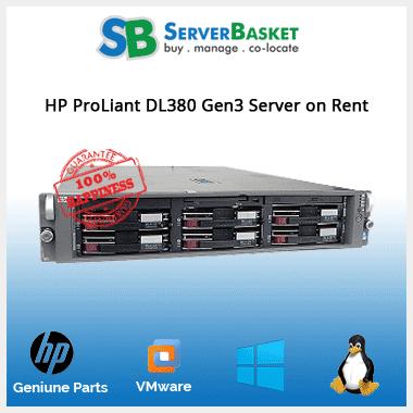 HP proliant Server Rental