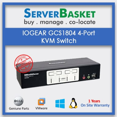 Purchase IOGEAR GCS1804 4-Port USB 2.0 KVM Switch on Server Basket Online
