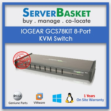 Buy IOGEAR MiniView GCS138 KVM Switch online