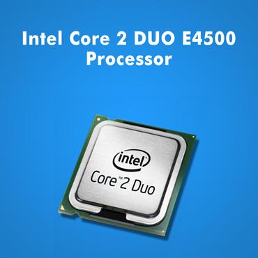 Intel Core 2 DUO e4500 Processor
