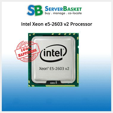 Intel Xeon E5-2603 v2 1.8GHz Processor | Buy Intel Xeon CPUs At Best Price Online
