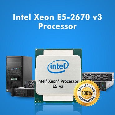 Intel Xeon E5-2670 v3 Processor For All Servers