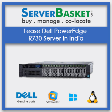 Lease Dell PowerEdge R730 Server In India
