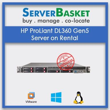 Lease HP Proliant Dl360 Gen5 Server, Rent HP Proliant Dl360 Gen5 Server