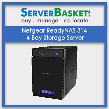 Buy Netgear ReadyNAS 314 4-Bay Storage Server In India