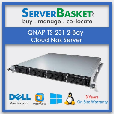 QNAP TS-231 2-Bay Cloud Nas Server In India