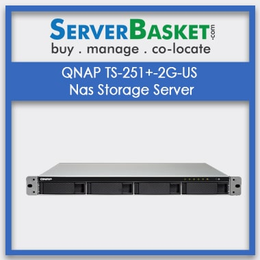 Buy QNAP TS-251+-2G-US Nas Storage Server In India