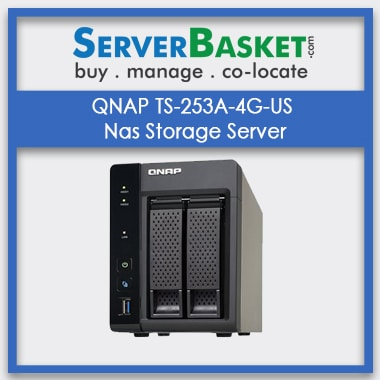 Buy QNAP TS-253A-4G-US Nas Storage Server In India , QNAP TS-253