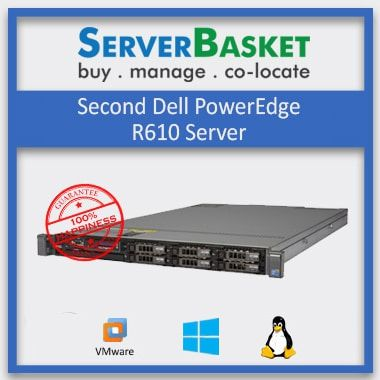 Buy Refurbished Dell PowerEdge R610 Server in India at Lowest Price from Server Basket