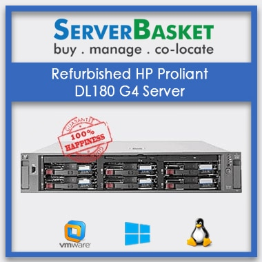 Refurbished HP Proliant DL180 G4 Server | HP used servers | HP Proliant Servers