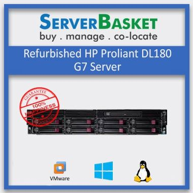 Buy Used/Refurbished HP Proliant DL180 G7 Server