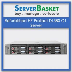 Refurbished HP Proliant DL380 G1 Server