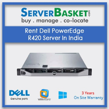 Rent Dell PowerEdge R420 Server In India