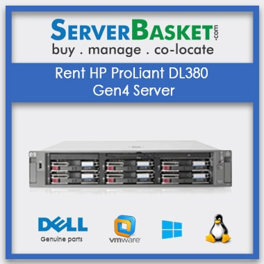 Rent HP ProLiant DL380 Gen4 Server , Server Rental