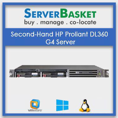 Second-Hand HP Proliant DL360 G4 Server | HP refurb servers