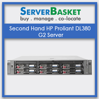 Second Hand HP Proliant DL380 G2 Server