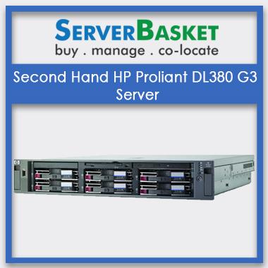 Second Hand HP Proliant DL380 G3 Server