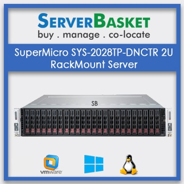 SuperMicro SYS-2028TP-DNCTR 2U RackMount Server | SuperMicro 2U Rack Server | SuperMicro 2U Server for Sale