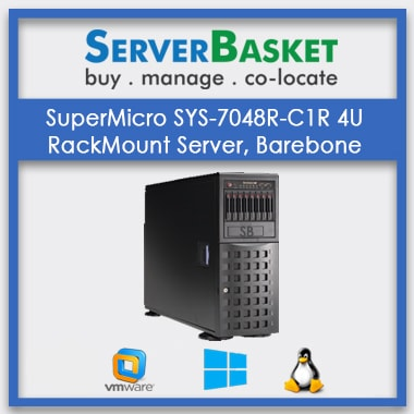 SuperMicro SYS-7048R-C1R 4U RackMount Server, Barebone | SuperMicro 4U Rack Server Online
