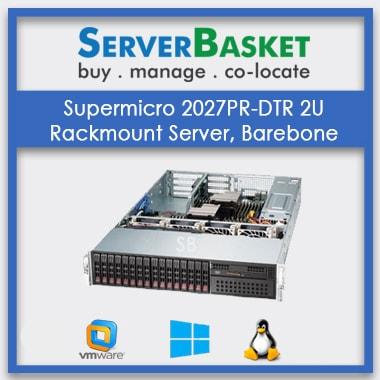 Supermicro 2027PR-DTR 2U Rackmount Server, Barebone | SuperMicro Server For Sale | Buy SuperMicro 2U Rack Server Online