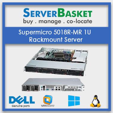 Supermicro SYS-5018R-WR 1U Rack Mount Server