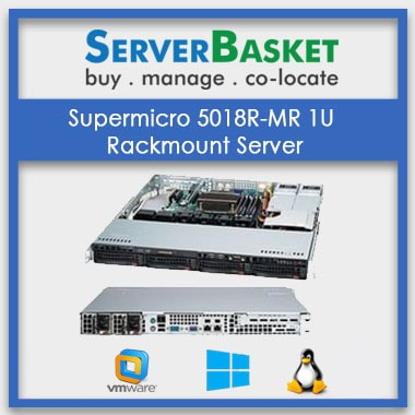 Supermicro SYS-5018R-WR 1U Rack Mount Server | Supermicro SYS-5018R-WR 1U Online | SuperMicro Server At Lowest Price in India