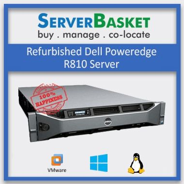 Buy Refurbished Dell PowerEdge R810 Server in India at Lowest Price from Server Basket Online