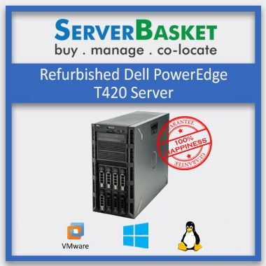 By Used/refurbished Dell PowerEdge T420 Server