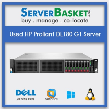 Buy Used HP Proliant DL180 G1 Server In India