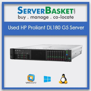Used HP Proliant DL180 G5 Server | Refurbished HP servers