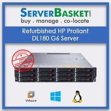 Buy Refurbished HP Proliant DL180 G6 Server at Deal Price from Server Basket Online, Purchase Refurbished HP DL180 G6 Server Online in India | HP Proliant DL180 g6