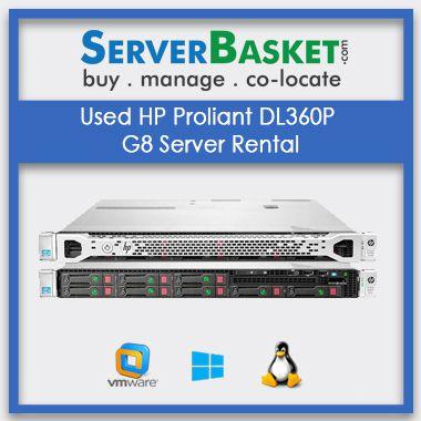 Buy Used HP Proliant DL360P G8 Server Rental In India , Hp server rental