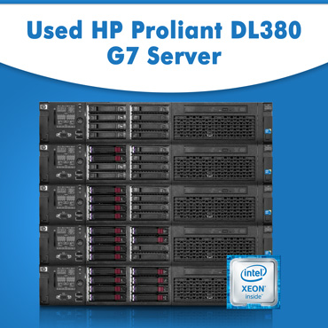 Used HP Proliant DL380 G7 Server