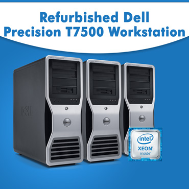 Used, Old Dell Precision T7500 Workstation