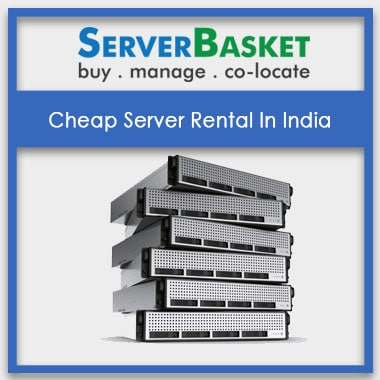 Cheap Servers like hp dell ibm for Rental In India