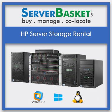 Buy HP Server Storage Rental In India | HP Servers