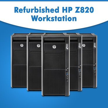 Refurbished HP Z820 Workstation on rent