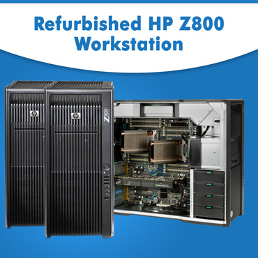 Refurbished HP Z800 Workstation